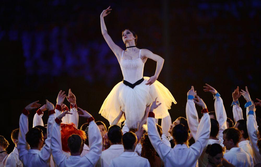 Особое место в сценарии занял балет, являющийся одной из визитных карточек нашей страны.