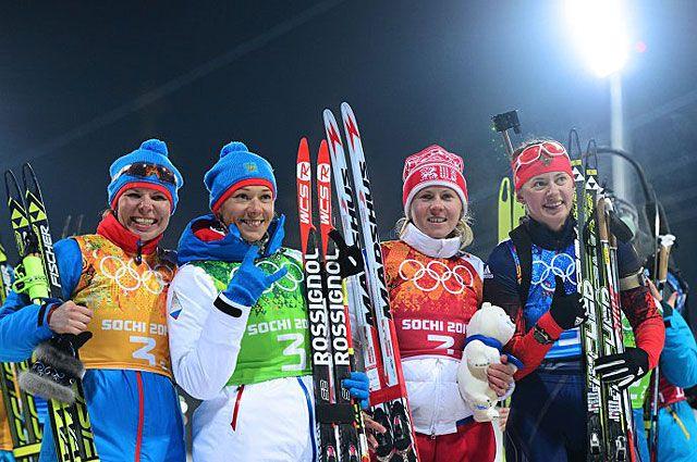 Новосибирская биатлонистка Вилухина взяла серебро в эстафетной гонке