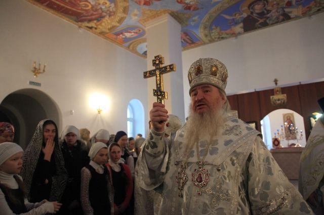 Митрополит Феофан освятил новый храм в Челябинске