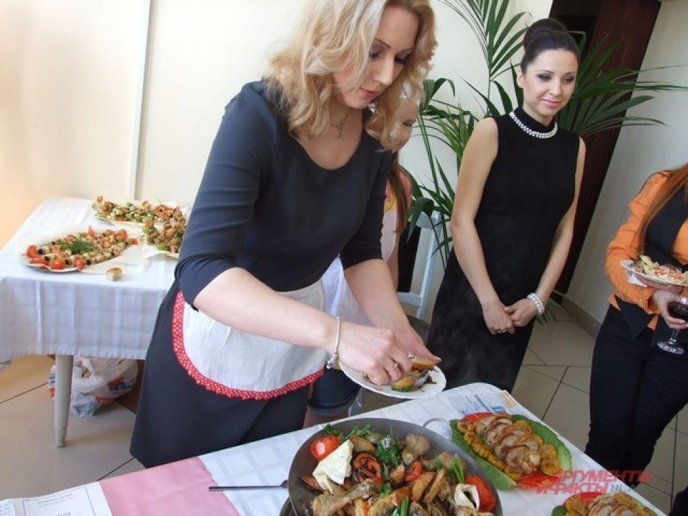 Фания оттачивает мастерство шеф-повара
