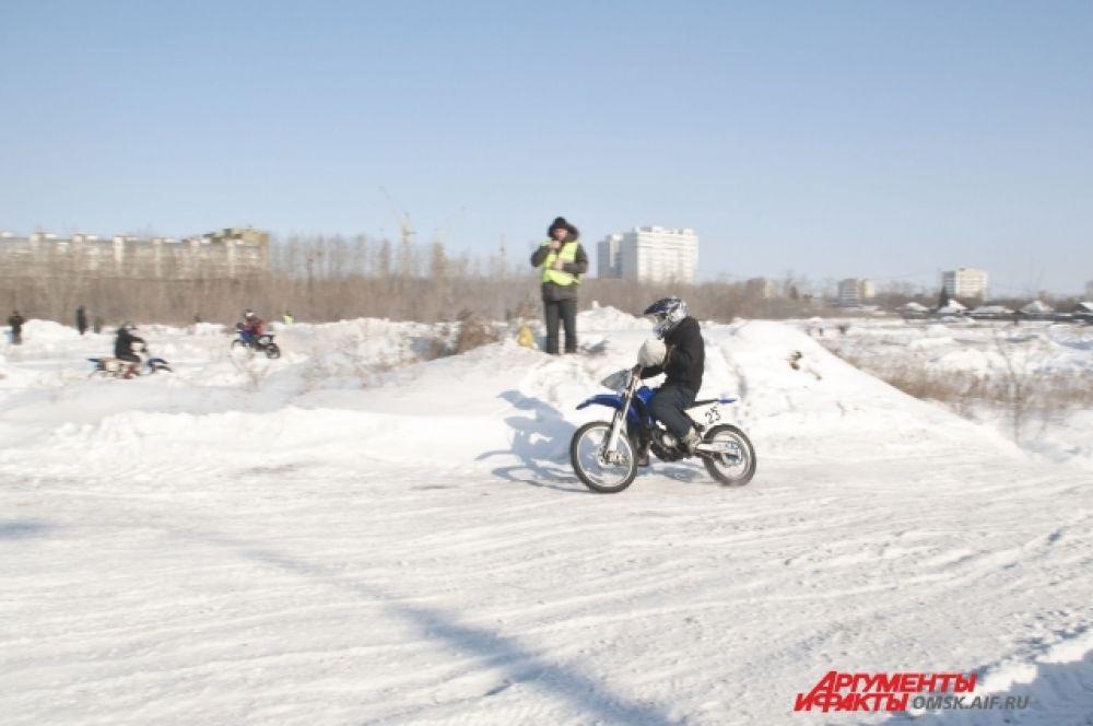 Мотокросс состоялся в Омске.