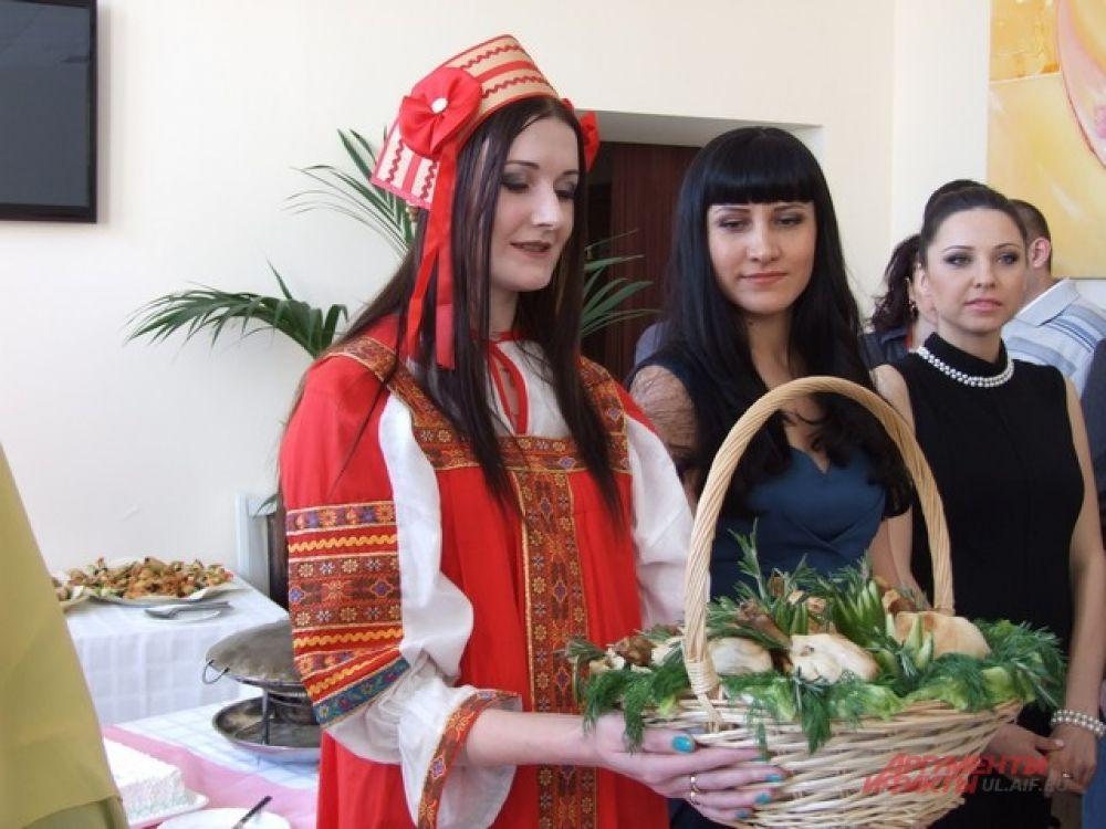 Семейные традиции в исполнении Елены Барсуковой