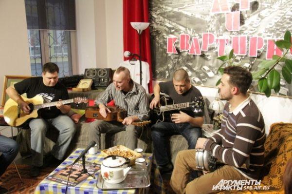 Группа «Н.Э.П.» исполняет песню в честь ФК «Зенит»