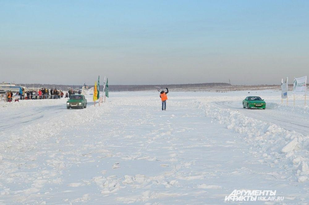 Гонки проходили на ольду Ершовского залива.
