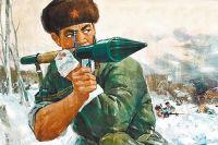 Такие плакаты должны были поддерживать боевой дух китайских солдат.
