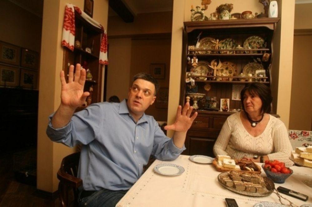 Олег Тягнибок рассказывает об отделке квартиры