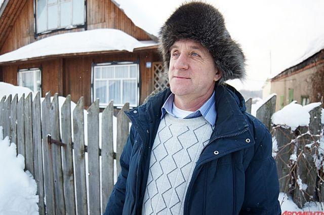 Фермер Владимир Рашин.
