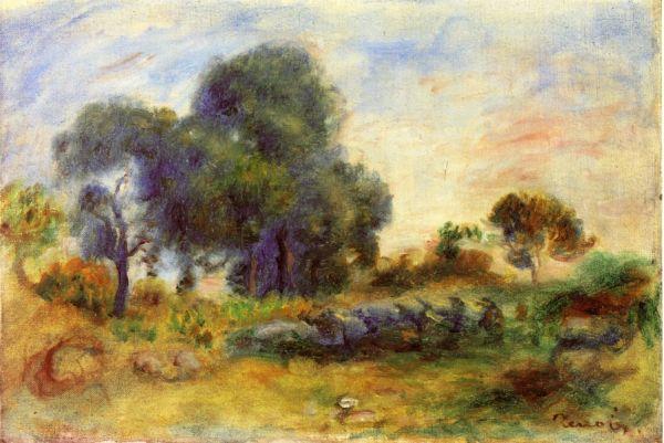 Он по-прежнему писал солнечные пейзажи и яркие натюрморты, но работать художнику становилось всё сложнее. В 1912 году у него случился приступ паралича и работать становилось всё труднее – кисть ему между пальцев вкладывала сиделка.