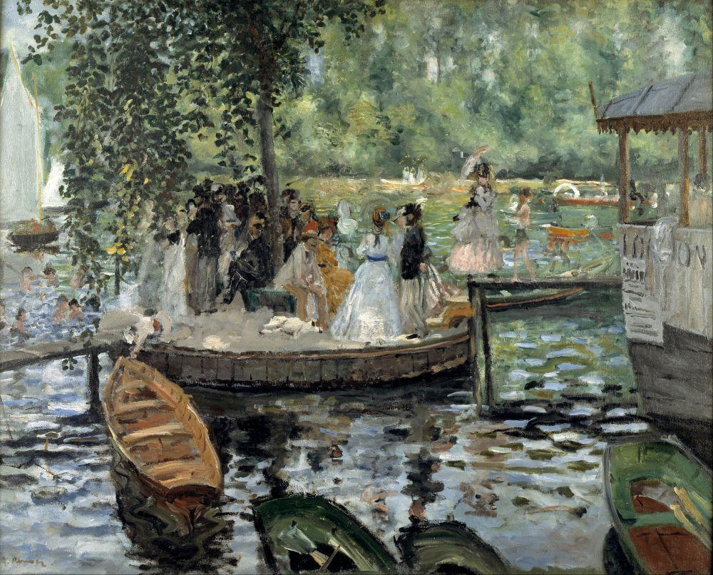 Во второй половине 1860-х годов у Ренуар очертил круг жанров для своих произведений и в будущем от него не отступал. Пьер Огюст рисовал пейзажи, бытовые сцены, натюрморты и портреты.