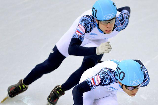 Семен Елистратов и Виктор Ан