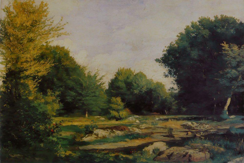После закрытия мастерской Глейра Ренуар вынужден был прекратить учёбу. Но в тоже время он начал писать свои большие полотна и отправлять их в Салон живописи.
