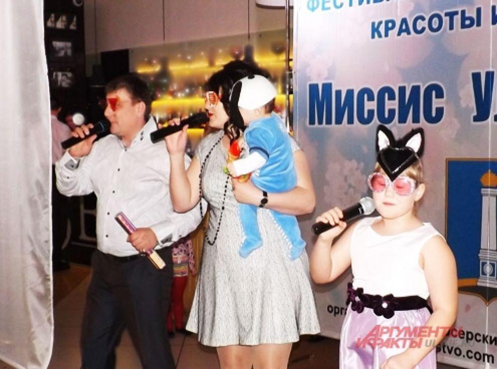 Вся семья Маргариты Новожениной - «Миссис караоке» - музыкальная
