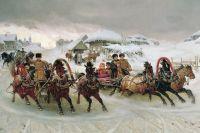 «Масленица». П. Н. Грузинский, 1889 год.