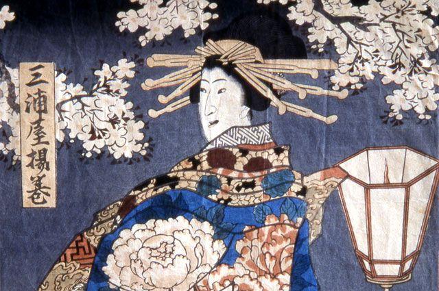 Пример японской графики.