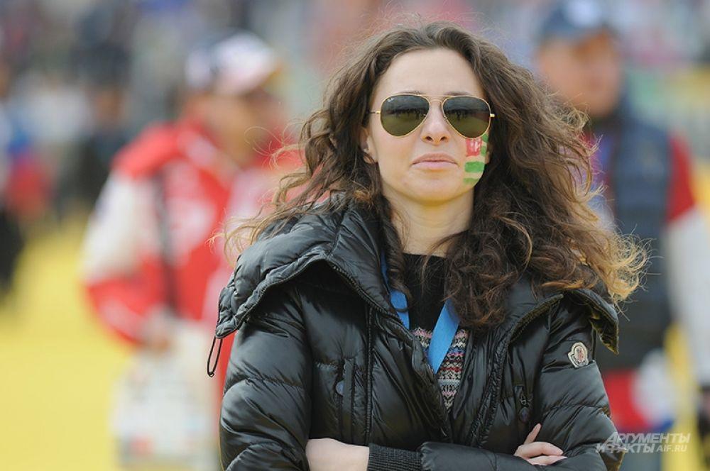 Радовало большое количество болельщиков из соседней Абхазии, до которой от Олимпийского парка в Сочи рукой подать.