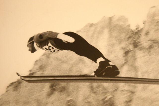 Владимир Белоусов - наш единственный Олимпийский чемпион по прыжкам с трамплина.