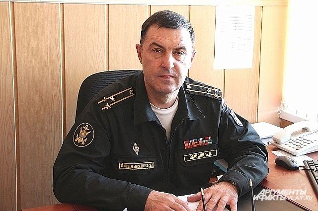 Игорь Смоляк, командир дивизии надводных кораблей ТОФ, капитан 1 ранга.