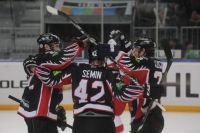 Авангард победил СКА в матче регулярного чемпионата.