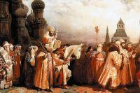 Романовы повели Россию путём, который сделал её ведущей мировой державой. Репродукция картины