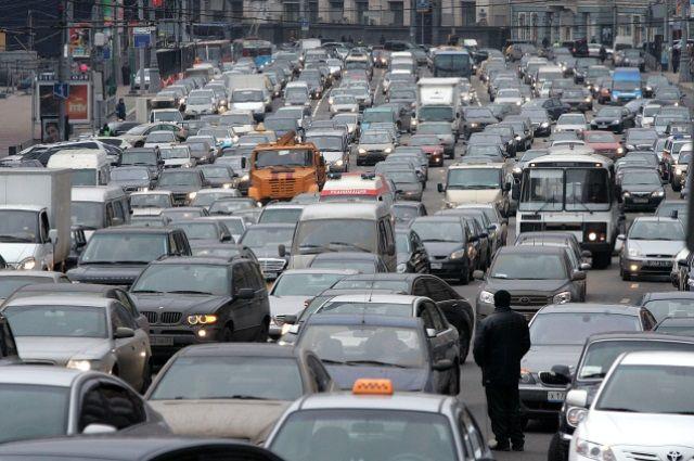 27 февраля в Омске были зафиксированы пробки в 10 баллов.