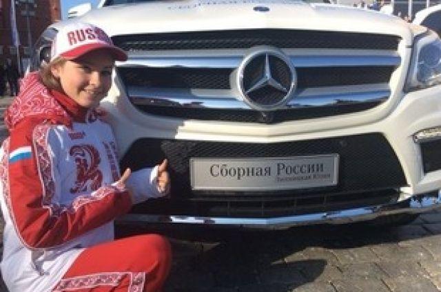 Подаренный Юле Липницкой автомобиль будет ждать ее 18-летия в Екатеринбурге