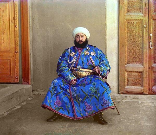 Алим-хан, эмир Бухары, 1907 год.