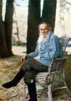 Единственная цветная фотография Льва Толстого, 1908 год.