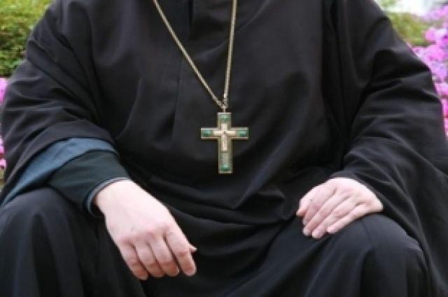 Ачинский священник попал дтп