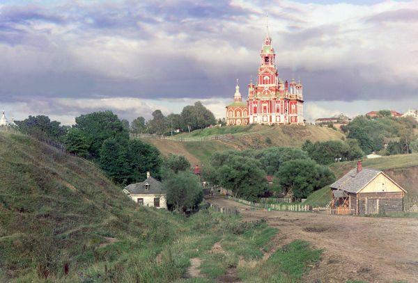 Николаевский собор в Можайске, 1911 год.