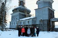 Богоявленский храм в д.Поле Онежского района.