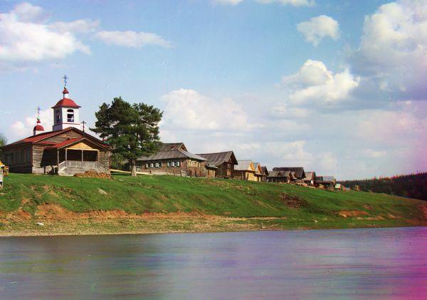 Река Межевая Утка, 1912 год.