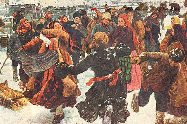 Ф. В. Сычков. Пляска. 1911 год.
