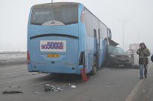 Крупная авария под Казанью