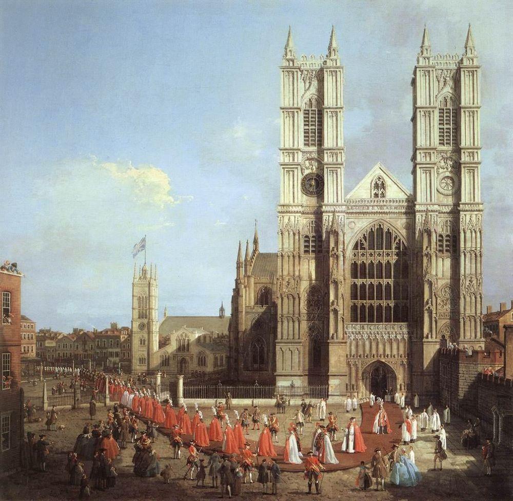 В 1745 году власти решили восстановить здание аббатства. По проекту Николаса Хоуксмура Были сооружены две западные башни. Сегодня являющиеся узнаваемым символом Вестминстерского аббатства.