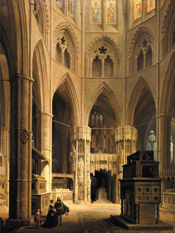 Долгое время комплекс зданий Вестминстерского аббатства менял свой статус и названия. Какое-то время территория считалась монастырём и здесь жили монахи, но затем Елизавета I назвала его Коллегиальной церковью св. Петра в Вестминстере. В этом статусе аббатство находится и по сей день.
