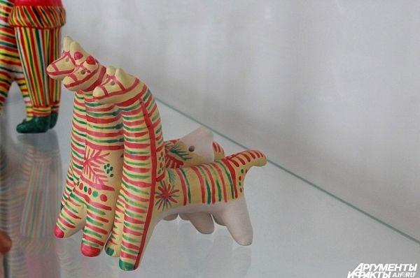 Филимоновская игрушка, Тульская область, 20-й век, глина.