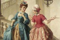 Отто Эрдман «Сплетни на лестнице». 1873 год.