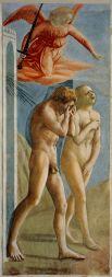 За проступком Адама и Евы последовало наказание: Змей был проклят и обречён ползать на животе и питаться прахом (согласно одной из версий, это означает, что прежде змеи имели ноги); женщина - рожать в муках и подчиняться мужчине, а мужчина — трудиться в поте лица.