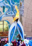 Длина маршрута Паралимпийского огня по Ханты-Мансийску составила 3,2 км.