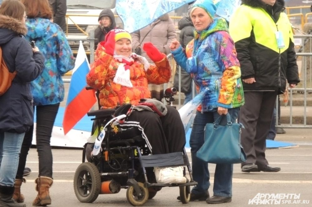 Церемонию посетили спортсмены-паралимпийцы разных лет