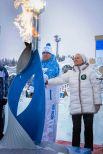 Губернатор Югры Наталья Комарова зажгла чашу Паралимпийского огня.