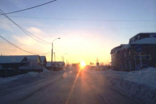 Южноуральцев в понедельник ожидает плюсовая температура воздуха