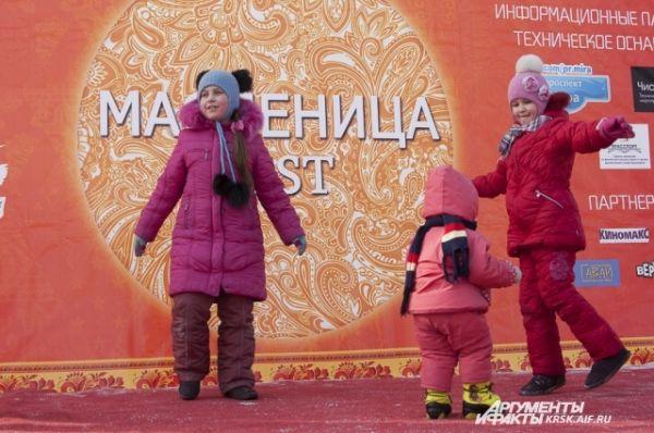 Масленица в Красноярске в 2014 году