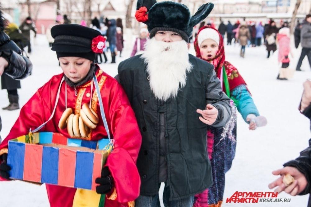 Масленица в Красноярске в 2013 году