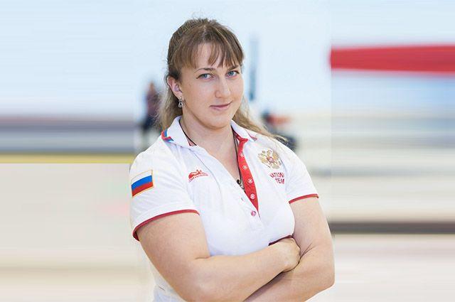 Чемпионка России по пауэрлифтингу Валерии Тимощук.