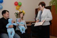 Получение материнского сертификата - это всегда праздник.