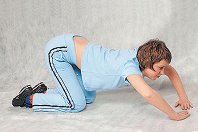 Видео занятия гимнастикой в голом виде