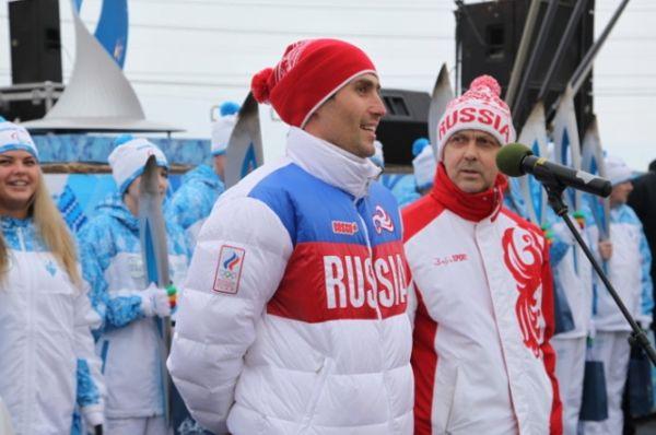 Участник Олимпиады в Сочи от Архангельской области Александр Румянцев.
