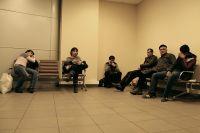 Зона аэропорта «Шереметьево» для людей, которым закрыт въезд в страну.
