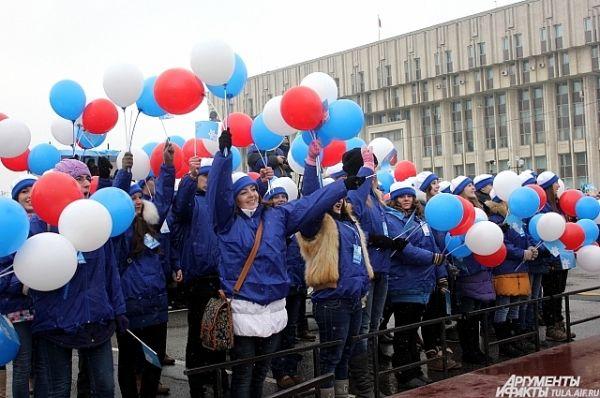 Волонтёры Эстафеты.